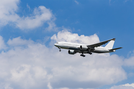 boeing: Boeing 767-300 approaching to Airport