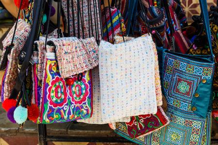 reciclar: Vintage handmade bag in Asia local shop