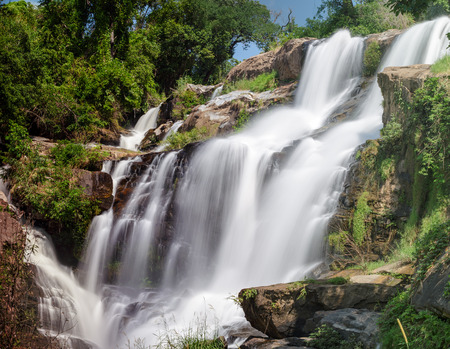 Mae Klang waterfall in doi-inthanon Chiangmai , Thailand