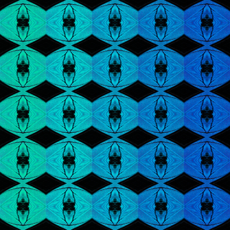 Background graphic design from texture of blue pansy butterfly wing Stock Photo