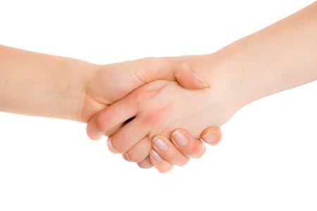 Hands handshake photo