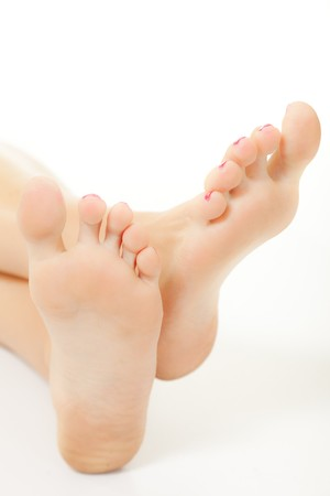 Woman feet Stock Photo - 7267290