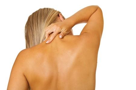 arthritis back: Neck pain