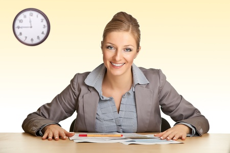 Office woman Stock Photo - 8968435