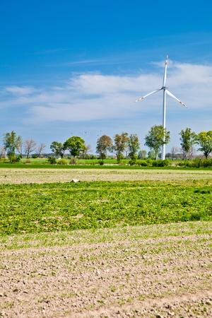 Wind powerplants countryside Stock Photo - 9566048
