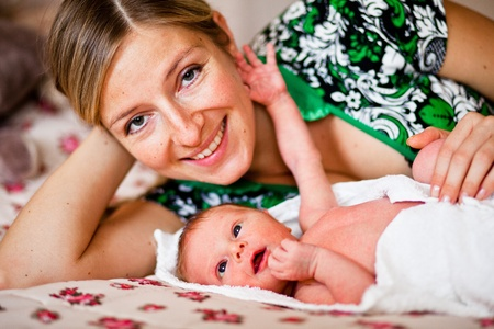 Mother with newborn Stock Photo - 11745218