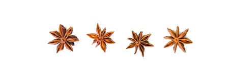 Composition of spices with cinnamon sticks isolated on white background Stock Photo - 13317431