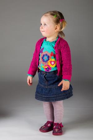 Happy infant child photo