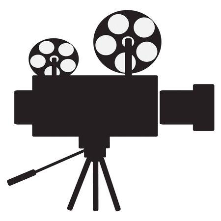 film projector: Film projector vector clip art