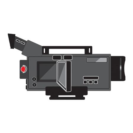 handheld: handheld camcorder with flip screen