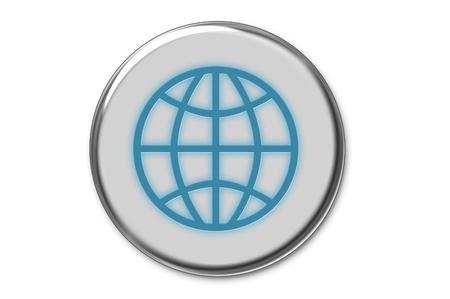 world wide web: Modern World Wide Web  button