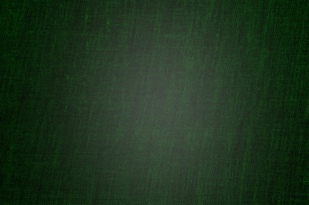 crosshatched: A vintage cloth book cover with a green screen pattern and grunge background textures Stock Photo