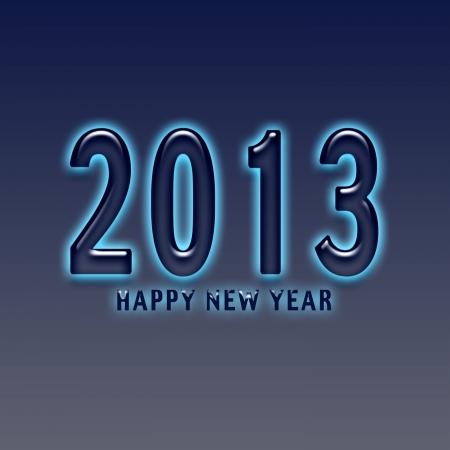 Happy New Year 2013 Stock Photo