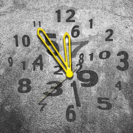 Clock, bussines concept