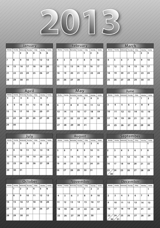 2013 Calendar Stock Photo - 16526427