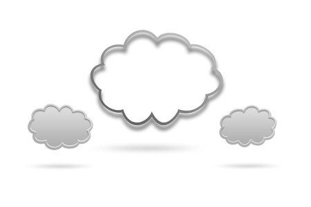 Cloud icon Stock Photo - 17004815