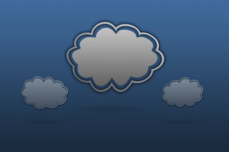 Cloud icon Stock Photo - 17004816
