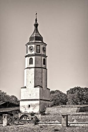 Clock Tower  Kalemegdan fortress, Belgrade Stock Photo - 17380770