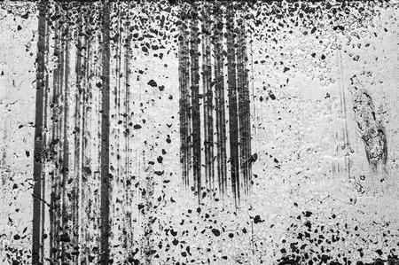 tire marks: Detail of tire marks on asphalt road.