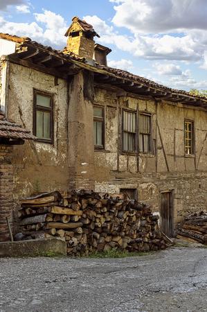 Old house in Kratovo, Macedonia. Stock Photo