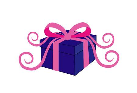 favor: A gift decorated with bowknot