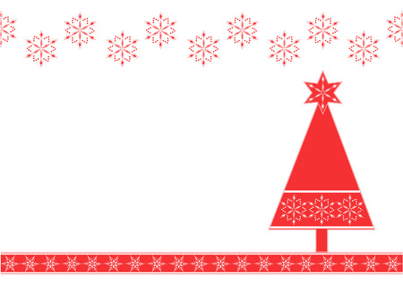 christmas backgrounds: Christmas Background with a tree