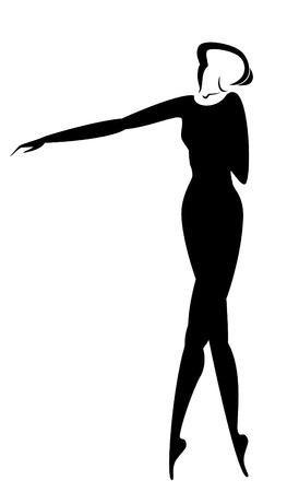 flexible: lady