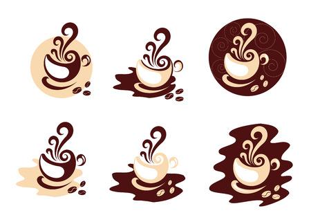hot: Coffee elements
