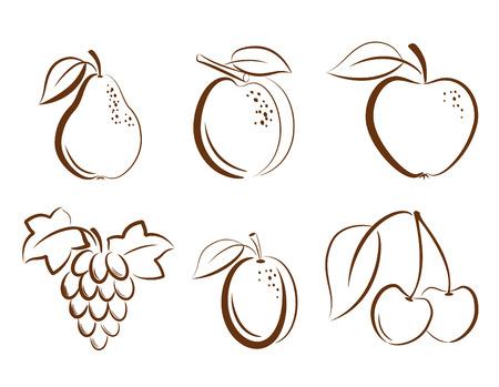果物のアイコン