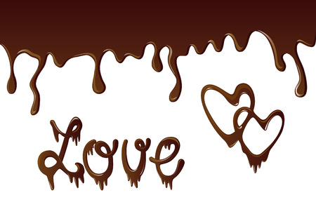 icon: chocolate background