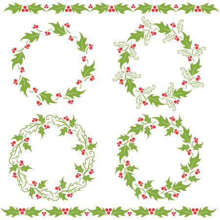 ed: Holly ornaments