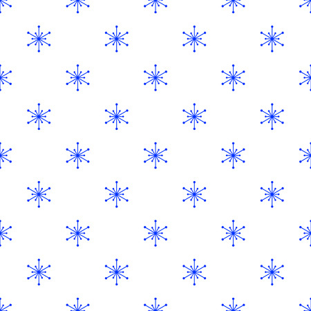 simple: A simple winter seamless pattern