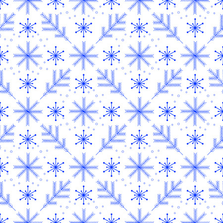 holiday celebrations: A simple winter seamless pattern