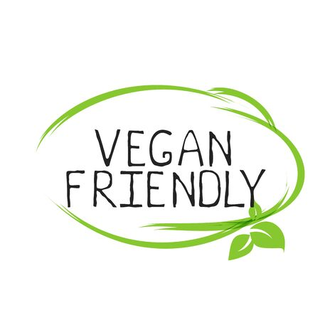Vegan friendly label and high quality product badges. Bio Home made food Organic product Pure healthy Eco food organic, bio and natural product icon. Emblems for cafe, packaging Foto de archivo - 136244893