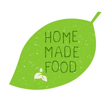 Home made food label and high quality product badges. Bio Organic product Pure healthy Eco food organic, bio and natural product icon. Emblems for cafe, packaging etc. Vector 矢量图像