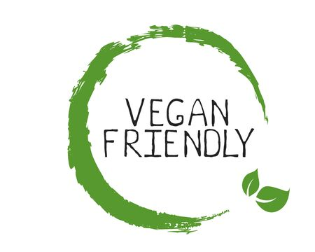 Vegan friendly label and high quality product badges. Bio Home made food Organic product Pure healthy Eco food organic, bio and natural product icon. Emblems for cafe, packaging etc. Vector 矢量图像