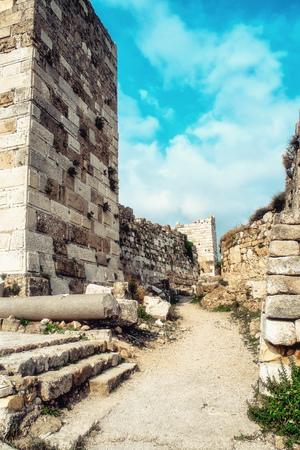 Byblos Crusader Castle, Lebanon
