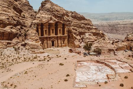 Ad Deir, The Monastery Temple of Petra, Jordan
