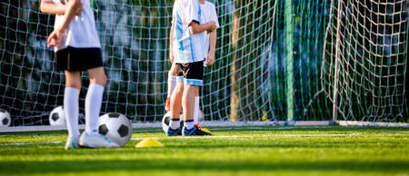 cerillos: Partido de fútbol para los niños. Torneo de Formación y fútbol de fútbol
