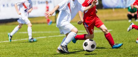 streichholz: Fußballspiel für Kinder. Training und Fußball Fußballturnier