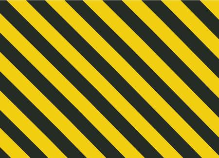 Grunge Black and Orange Surface as Warning or Danger Pattern Old, vector background