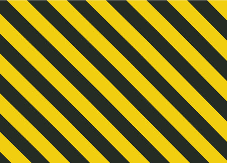 Grunge Black and Orange Surface as Warning or Danger Pattern Old, vector background