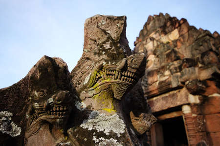 Khmer Architecture in south-east Thailand photo