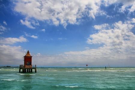 adriatic: Old lighthouse Stock Photo