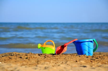 beach toys photo