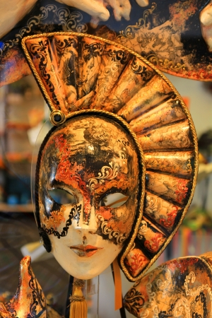 theatre costumes: venice mask