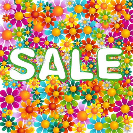 flower summer sale photo