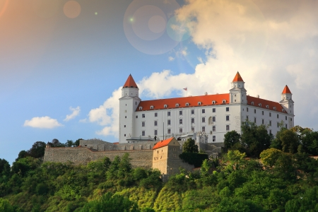 bratislava: bratislava castle
