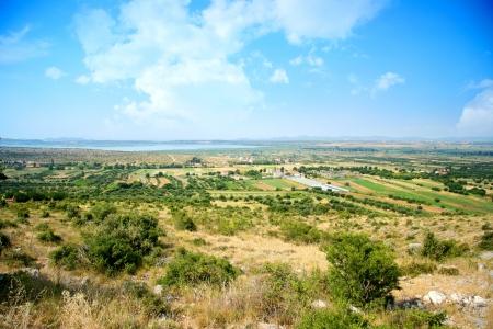 beautiful green scenery landscape photo