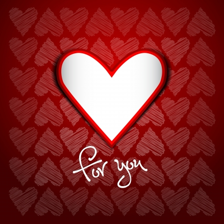 Heart - for you Stock Photo - 16331923